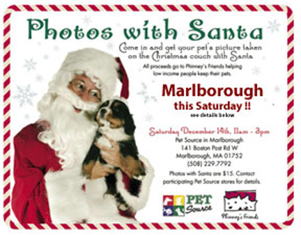 Phinney's Friends Needs Your Support This Saturday -- Photos with Santa!