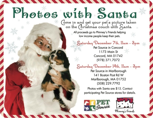 santa pictures for Phinneys