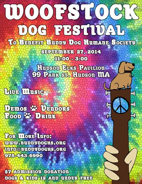 woofstock poster 2014